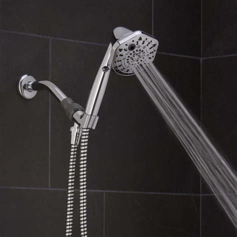 Shop Oxygenics PowerSelect Chrome 7 Spray Handheld Shower