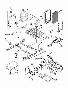 Unit Parts Diagram  U0026 Parts List For Model Ed5vhexvq09