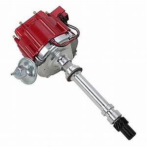 Chevy Small  U0026 Big Block Sbc Bbc 350 454 V8 Hei Distributor 50kv Coil 7500rpm