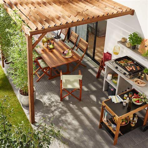 cuisine d été castorama construire sa cuisine extérieure tous nos conseils avant