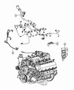 2013 Dodge Ram 1500 Wiring  Used For  Engine And Transmission   180 Amp Alternator