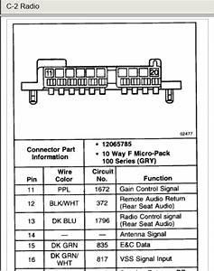 Wiring Database 2020  30 2007 Chevy Silverado Radio Wiring