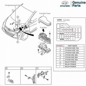 Hyundai Eon  Front Wiring Harness