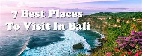 places  visit  bali   attractions