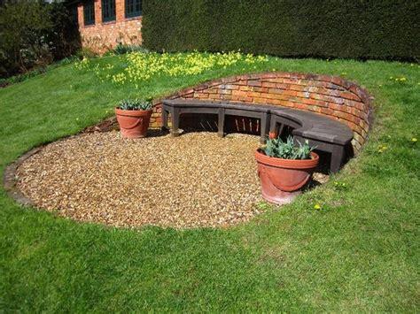 best 25 sloped backyard ideas on