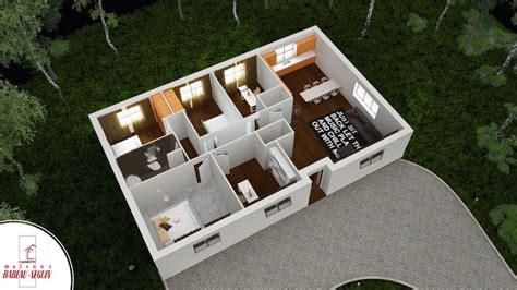 plan plain pied 4 chambres aubetiere maison moderne plain pied pas cher