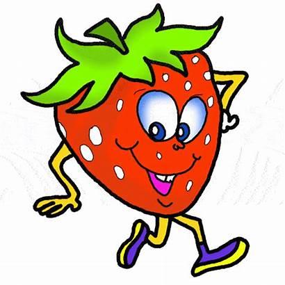 Clipart Funny Fruits Clip Cartoon Vegetable Cliparts