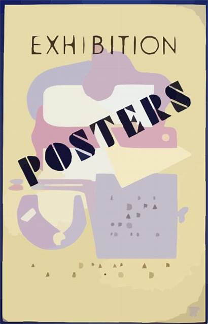 Poster Posters Clipart Project Exhibition Clip Federal