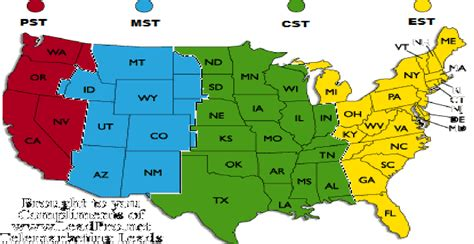blog time zone map