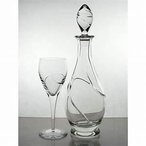 Carafe à Vin : carafe et 6 verres vin collection la spirale ~ Teatrodelosmanantiales.com Idées de Décoration