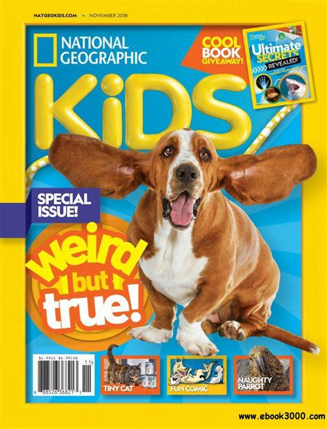 National Geographic Kids USA November 2018 Free eBooks