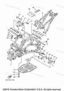 Yamaha Atv 2001 Oem Parts Diagram For Frame