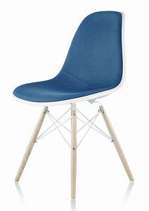 Eames Plastic Side Chair : herman miller eames molded plastic side chair upholstered shell gr shop canada ~ Bigdaddyawards.com Haus und Dekorationen