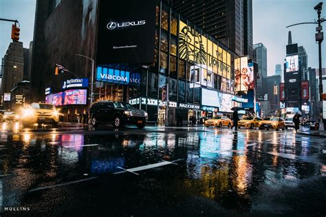 New York Street Photography In The Rain