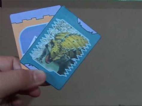Coleccion de dinosaurios de jurrasic world t rex tyranosaurus rex indominus rex zoomer dino jug. Dino Rey cartas: Tanck a Lot - YouTube
