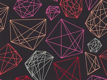 Geometric Patterns Colorful Ai Shapes Everything Different