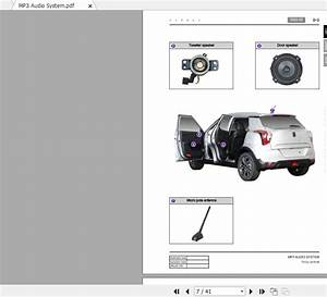 Ssangyong Tivoli Xlv 2019-2020 Service Repair Manual  U0026 Wiring Diagrams - Homepage