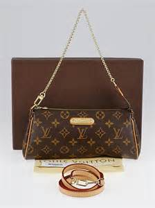 louis vuitton monogram canvas eva clutch bag yoogis closet
