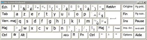 tutoseu disposition des touches dun clavier anglais