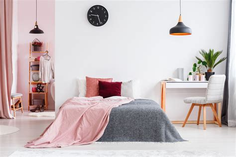 bedroom with pink walls how to decorate a pink bedroom 14476