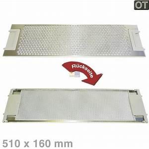 Fettfilter metall 510x160mm 5026384900 aeg o hausgerate for Aeg fettfilter metall