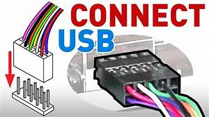 How To Connect The Usb Front Panel To Your Motherboard