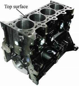 The Top Surface Of An Engine Cylinder Block
