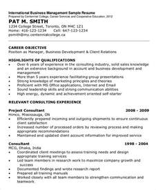 International Resume Format Pdf by Simple Business Resume Templates 19 Free Word Pdf