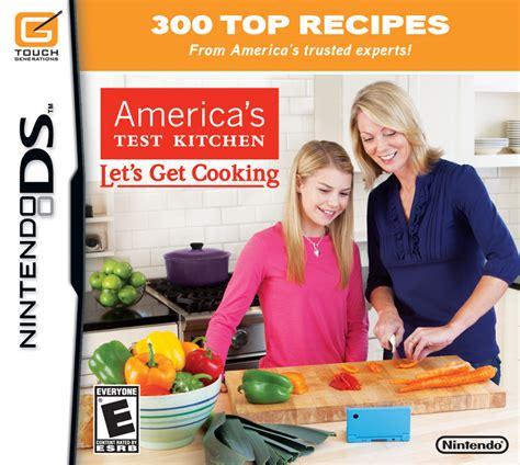 america s test kitchen america s test kitchen let s get cooking the nintendo