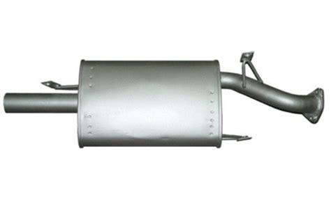 mitsubishi lancer cc ce 1 5lt 1 8lt rear bolt on 2 quot sports muffler exhaust ebay