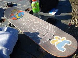 Custom Painted Clear Griptape {For Skateboard} · How To ...