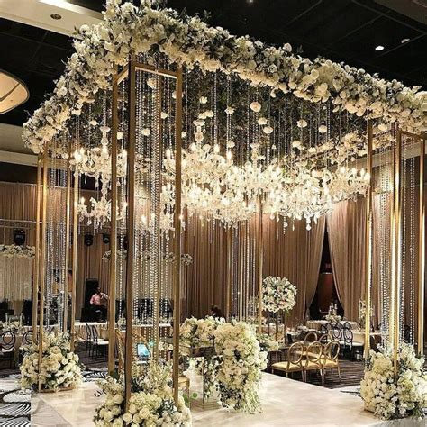 62 extravagant white indoor wedding ceremony 41 in 2020