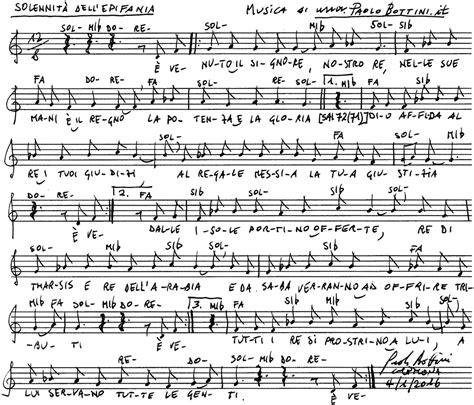 Canti Ingresso Messa Canti Per La Messa Epifania Signore Canto D