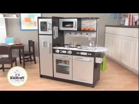 Kidkraft Uptown Espresso Kitchen 53260  Large Modern Kids