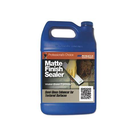 miracle sealants 32 oz matte finish sealer color enhancer