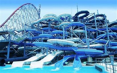 Water Slides Waterpark Attractions Park Slide Theme