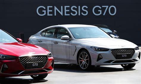 genesis  brands  compact sport sedan targets
