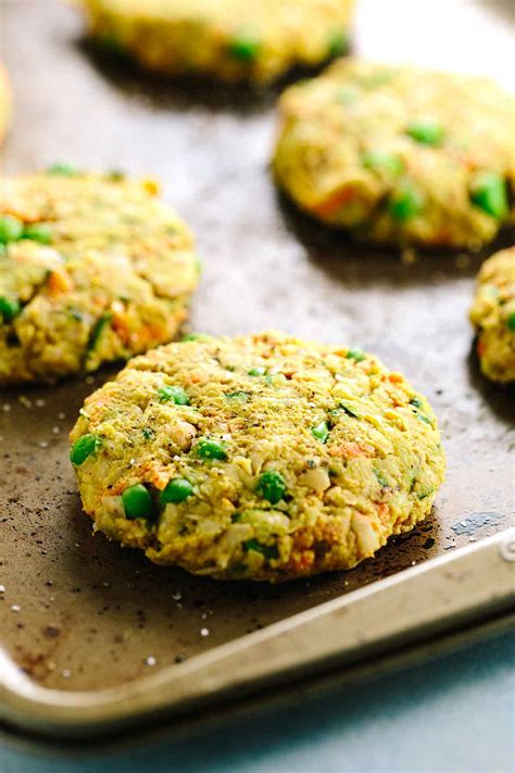 spiced vegetable cakes recipe with chickpeas gavin