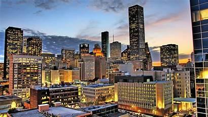 Houston Skyline Wallpapers Morning Windows Studio Xbox
