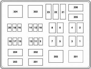 02 F350 Fuse Panel Diagram
