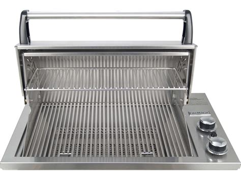 built in countertop grill magic legacy stainless steel deluxe gourmet 23