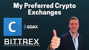 The Crypto Exchanges I Use - Quick Guide for ...