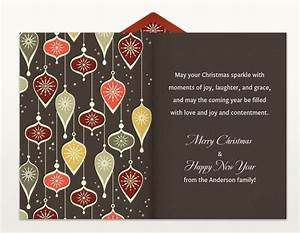 Christmas card greetings for Business christmas card wording