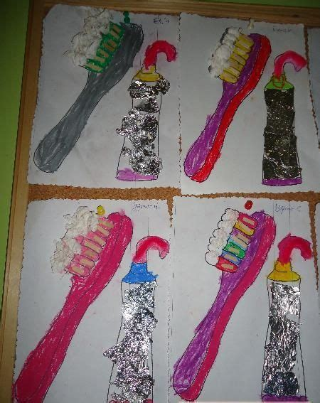 toothbrush craft idea  preschoolers  crafts