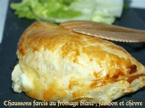 chaussons farcis au fromage blanc jambon et ch 232 vre dans vos assiettes