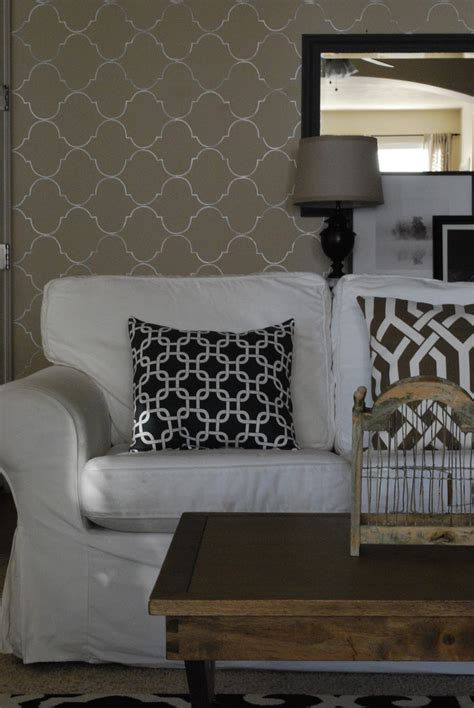How I Created My Living Room Accent Wall Wendy Hyde