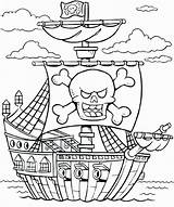 Coloring Cruise Ship Pirate Colouring Wickedbabesblog sketch template