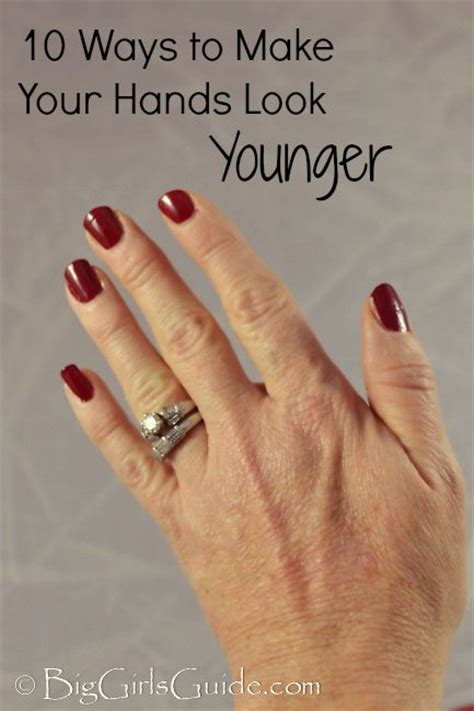 10 Ways to Make Your Hands Look Younger | Anti aging skin