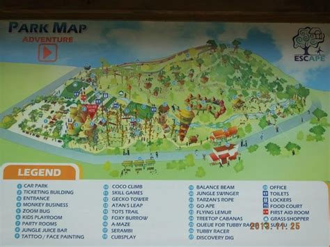map  escape park picture  holiday inn resort penang