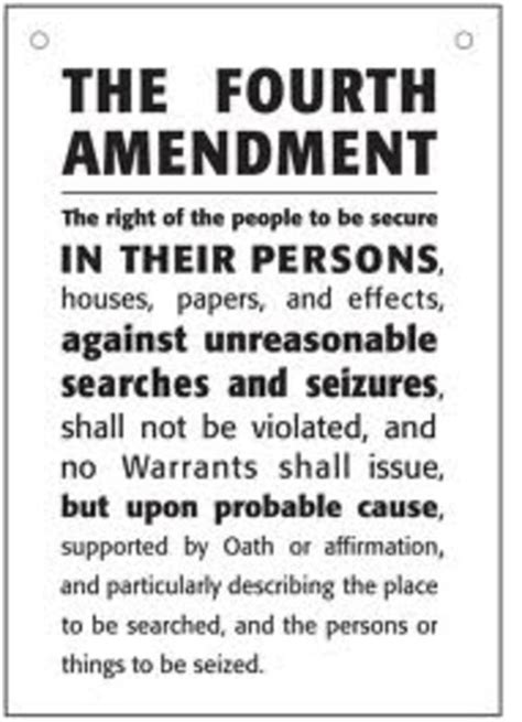 fourth amendment  supreme court cases timeline